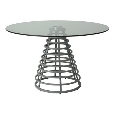 Candlewood Dining Table Base Color: BG Matte Gray