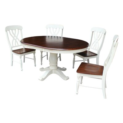 Eamon 5 Piece Extendable Dining Set