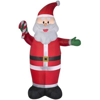 Santa Claus Christmas Oversized Figurine