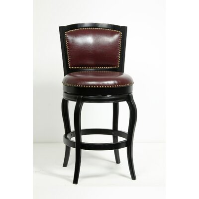 "Faith Classic Tufted 30"" Swivel Bar Stool"