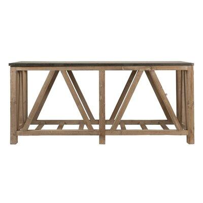 Eliana Rectangular Wooden Console Table