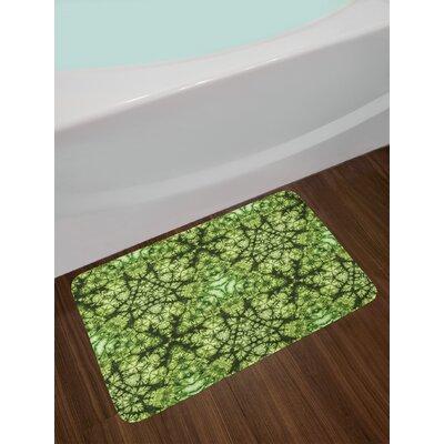 Green Nature Bath Rug