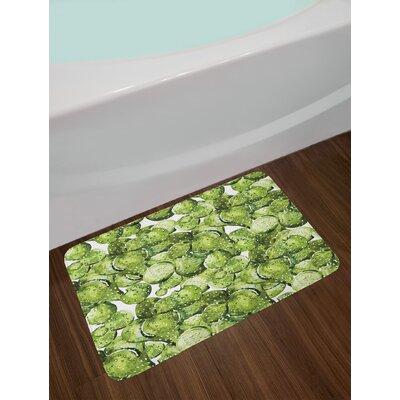 Cactus Cactus Petals Bath Rug
