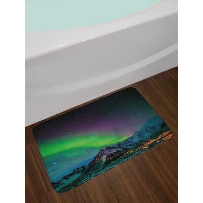 Southern Aurora Borealis Bath Rug