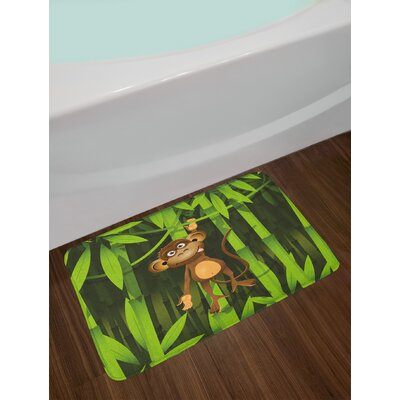 Wildlife Jungle Bath Rug