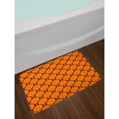 Abstract Tree Bath Rug
