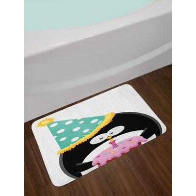 Adorable Funny Birthday Bath Rug