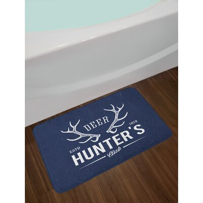 Deer Hunter's Hunting Bath Rug