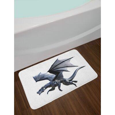 Fantastic Dragon Bath Rug