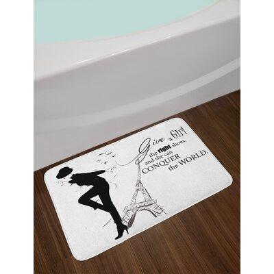 Dancing Teen Room Bath Rug