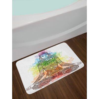 Tattoo Yoga Bath Rug