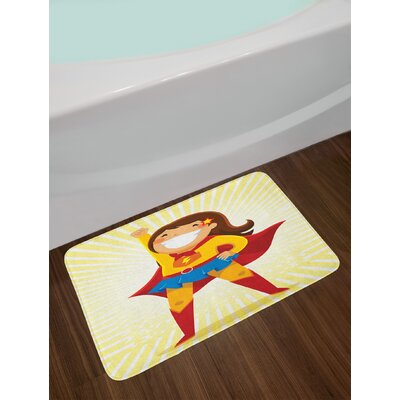 East Urban Home Superhero Bath Rug