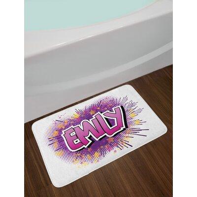Hugely Emily Bath Rug