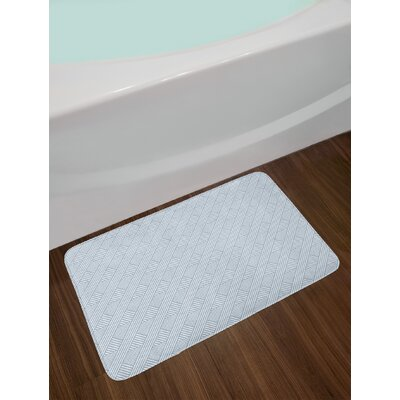 East Urban Home Stripes Bath Rug
