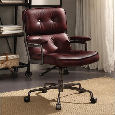 Mcintyre Genuine Leather Executive Chair