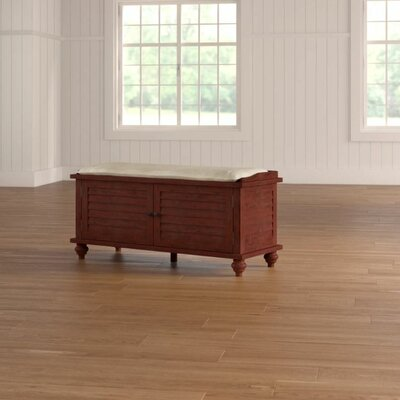 Indialantic Storage Bench Color: Espresso