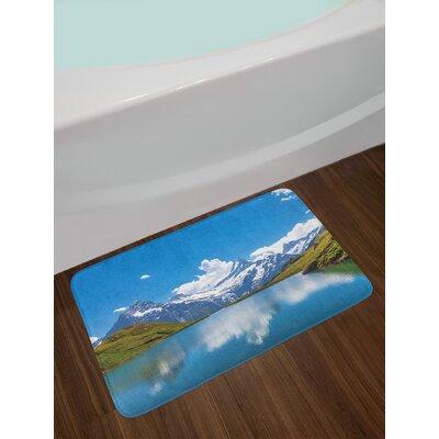 Dreamy Landscape Bath Rug