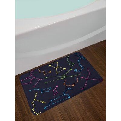 Constellation Colorful Bath Rug