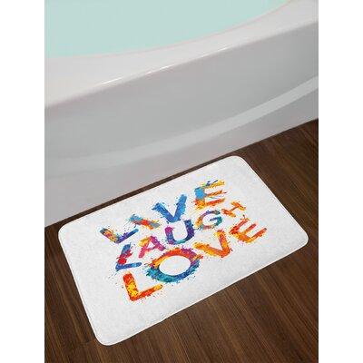 Live Laugh Love Bath Rug