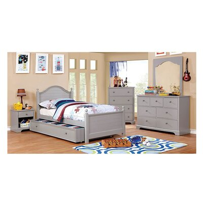 Sweet Panel Bed Size: Full, Bed Frame Color: Gray