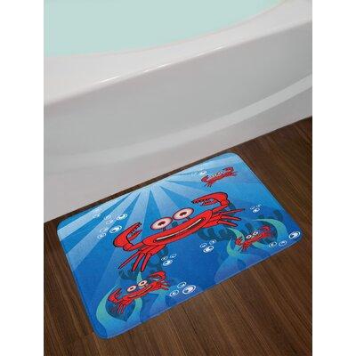 East Urban Home A Crabs Bath Rug