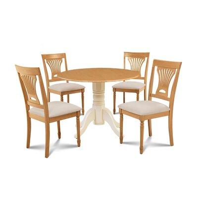 Marcellus 5 Piece Drop Leaf Dining Set