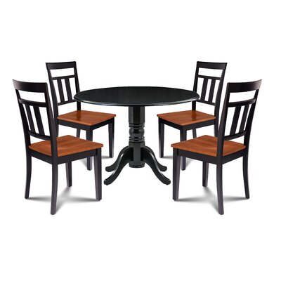 Laszlo 5 Piece Drop Leaf Dining Set