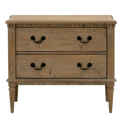 Brian Wooden 2 Drawer Chest