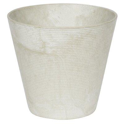 """Junior Cali Stone Pot Planter Size: 12.5"""" H x 12"""" W x 12"""" D, Color: Mint"""