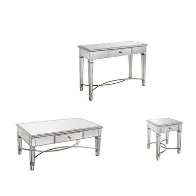 barbera 3 piece coffee table set furniture better