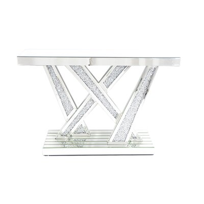 Remington Mirrored Console Table