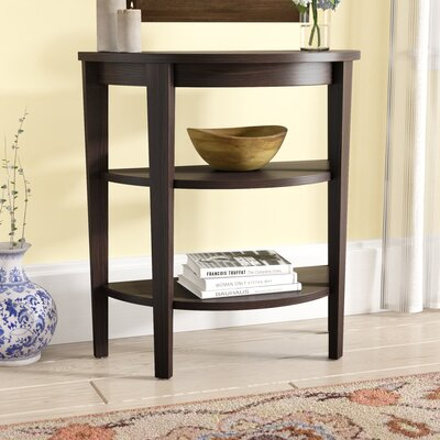 Riley Console Table Color: Espresso
