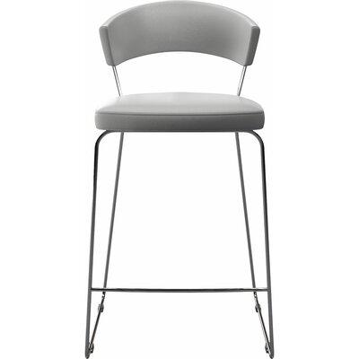 """Delancey 29.5"""" Bar Stool Upholstery: White"""