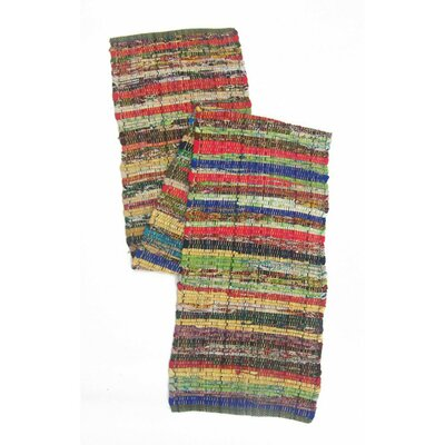 Fleur Recycled Cotton Cuttings Chindi Table Runner