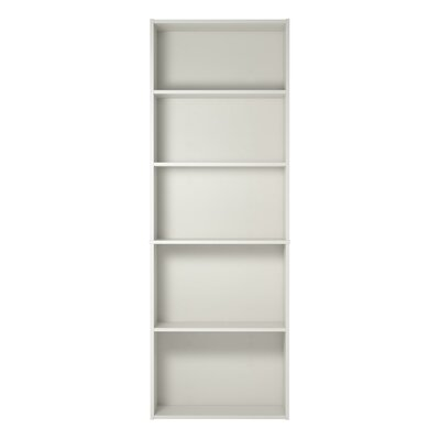 Rosemary Standard Bookcase Color: White