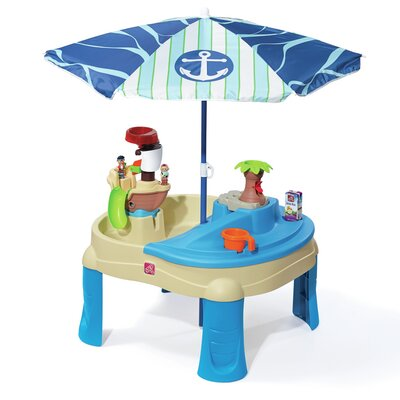 Sail Away Adventure with Umbrella Sand & Water Table