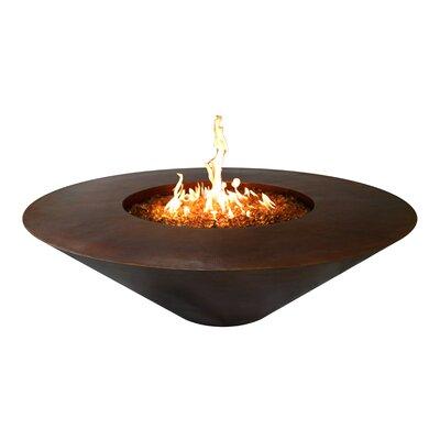 Julius Round Copper Fire Pit Fuel Type: Natural Gas
