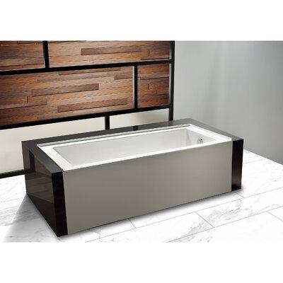 "Avalon 30"" x 60"" Alcove Soaking Bathtub Drain Location: Right Hand"
