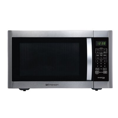 """22"""" 1.6 cu. ft. Countertop Microwave with Inverted and Sensor Cook Technology"""