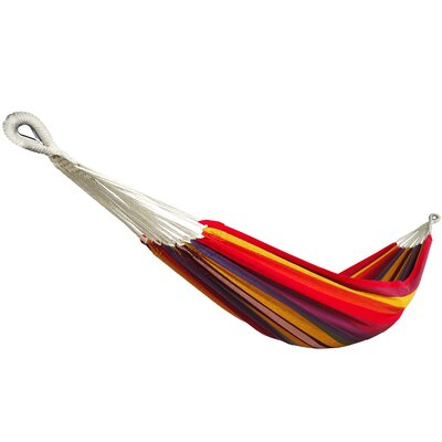 """Snider Hang Tree Hammock Color: Yellow/Red, Size: 1"""" H x 40"""" W x 75"""" D"""
