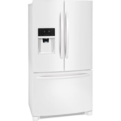 26.8 cu. ft. Energy Star French Door Refrigerator with LED Lighting Finish: Pearl