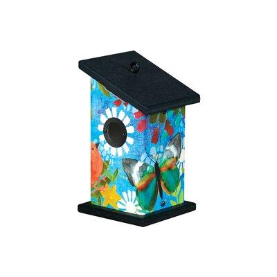 American garden decor - Peaceful Paradise 9 inch x 5 inch x 5 inch Wren House - Studio M Birdhouses
