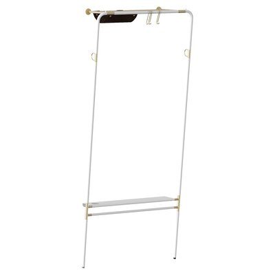 Lenny Coat Rack Color: White