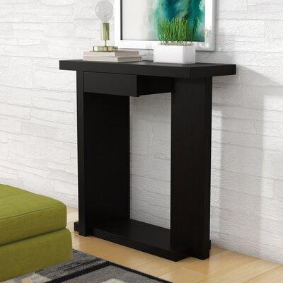 Vikki Console Table Color: Black Cappuccino