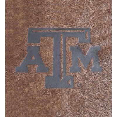 Brandt Elite Fan Furnishings Leather Manual Rocker Recliner Upholstery: Texas A & M