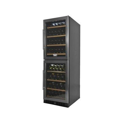 155 Bottle Professional Dual Zone Freestanding Wine Cellar