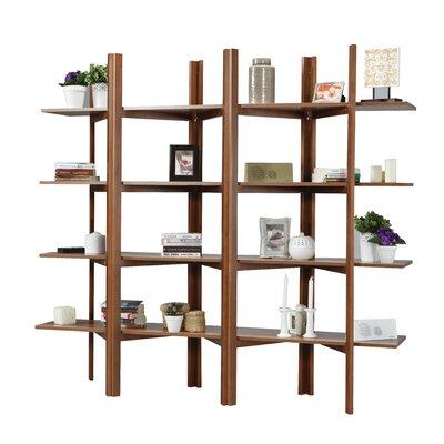 Battle Accordion Etagere Bookcase