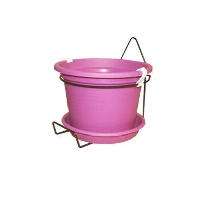 Gefen Plastic Wall Planter Color: Pink