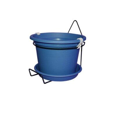 Gefen Plastic Wall Planter Color: Blue