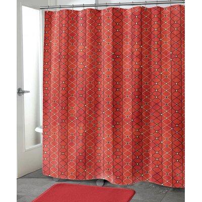 """Crestview Shower Curtain Size: 72"""" H x 70"""" W"""